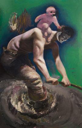 Pietro Geranzani, Met, 2007- 2015, olio su tela, cm 185×115