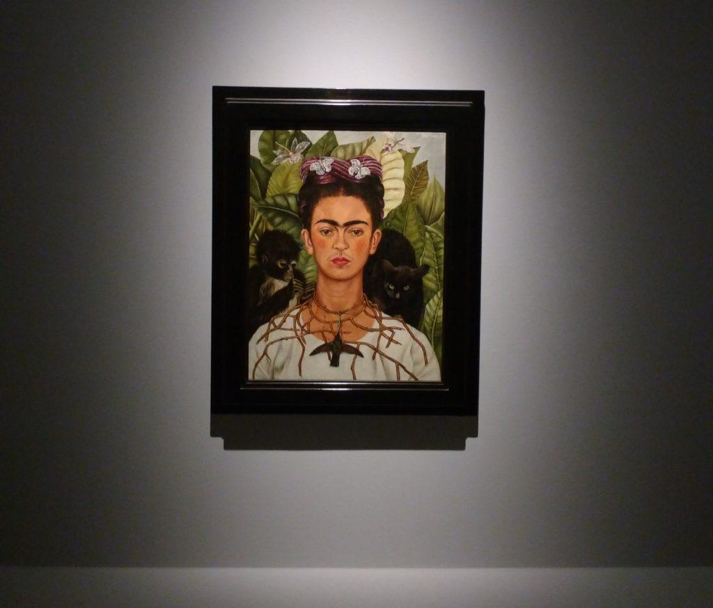 Frida Kahlo, Autoritratto, 1940, olio su alluminio