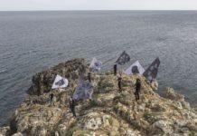 Mostra Terrae Andreco, Parata per il paesaggio, performance prodotta da Ramdom, ph. Yacine Benseddik