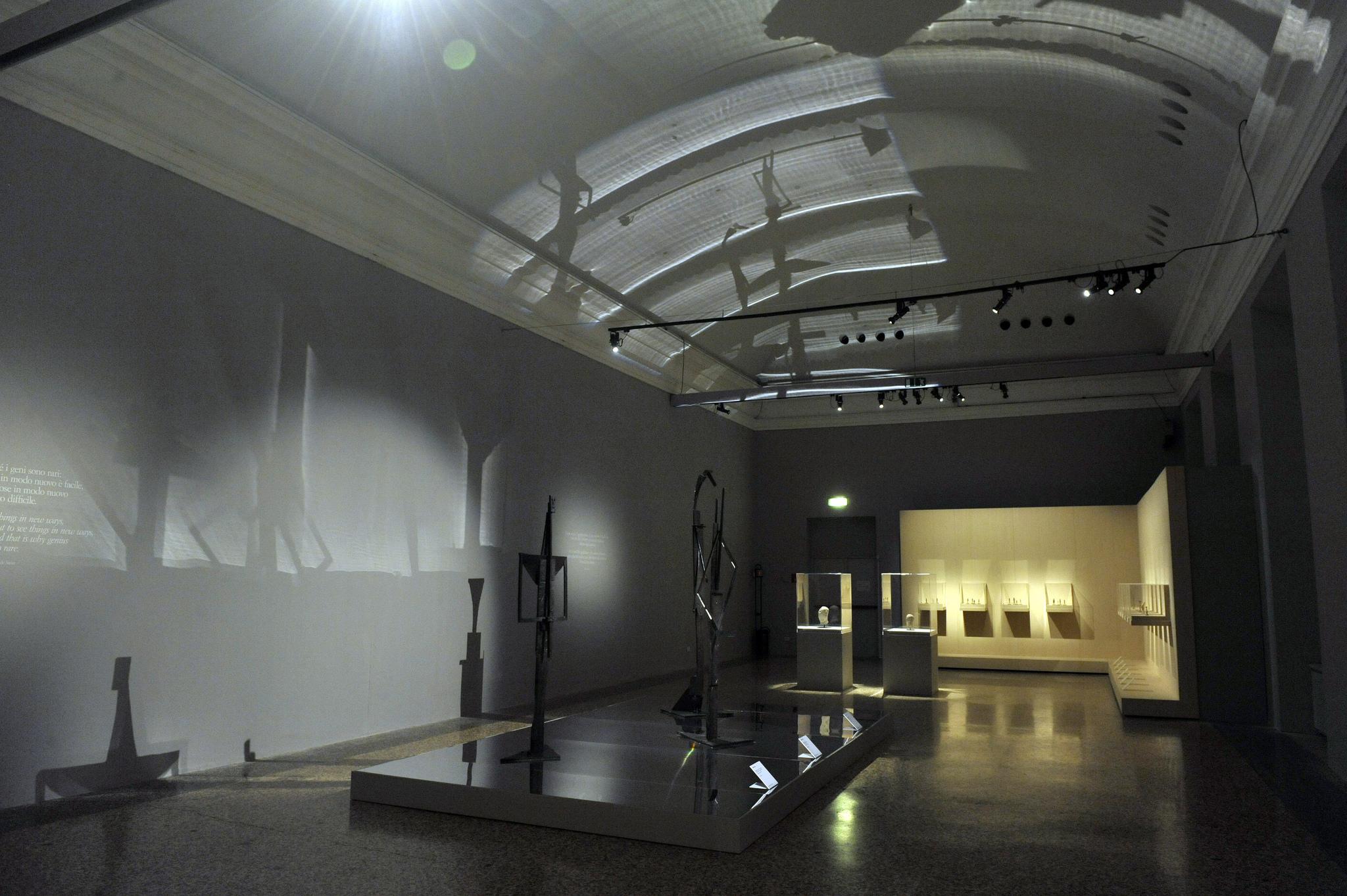 Una panoramica della mostra (ph Comune di Milano)