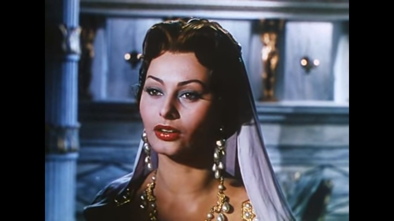 Sophia Loren in Attila (1954) di Pietro Francisci