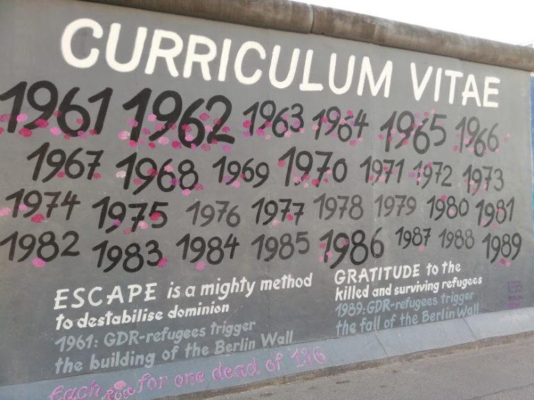 Die Mauer, breve storia del Muro di Berlino