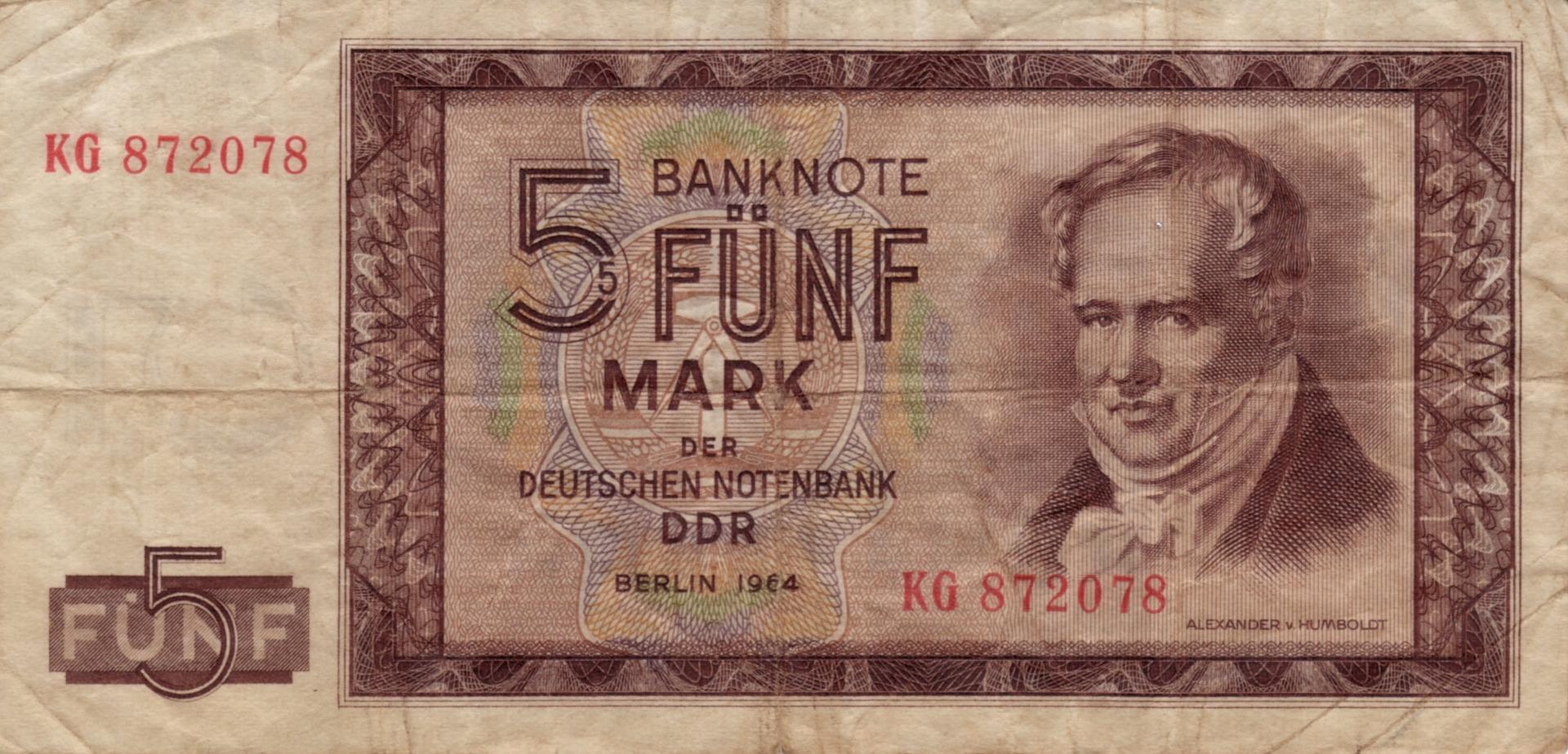 banconota della ddr