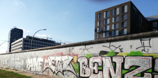 Muro di Berlino a East Side Gallery