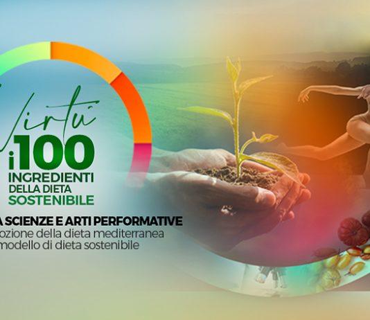 La locandina di Virtù, i 100 ingredienti della dieta sostenibile